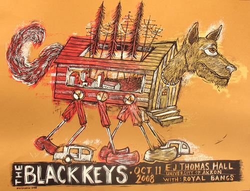 dan-grzeca-black-keys-poster-art