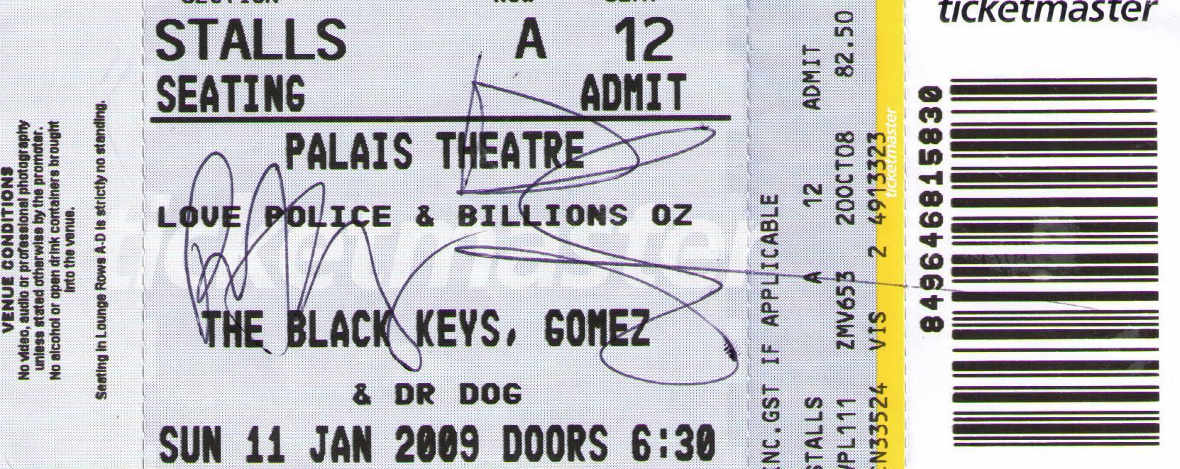 signed-black-keys-concert-ticket